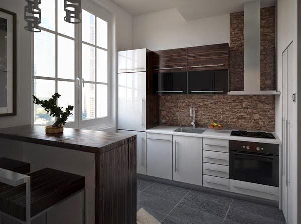 Interior dapur rumah minimalis 3