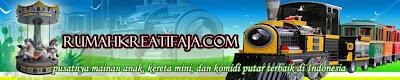 Rumahkreatifaja.com, produsen kereta mini, kereta mall, dan komidi putar terbaik di Indonesia
