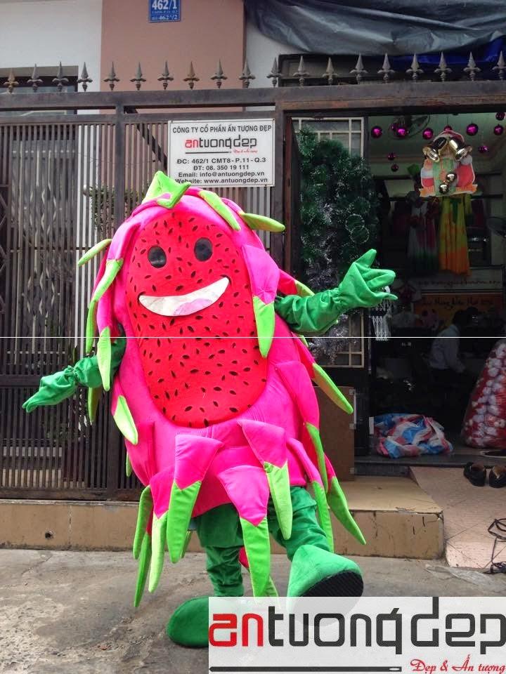 may bán mascot trái cây giá rẻ