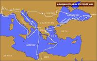 Viaje de Jasón y los Argonautas
