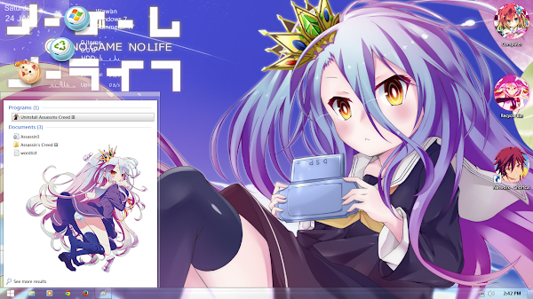 No Game No Life / ノーゲーム・ノーライフ ( windows 7 ) 3