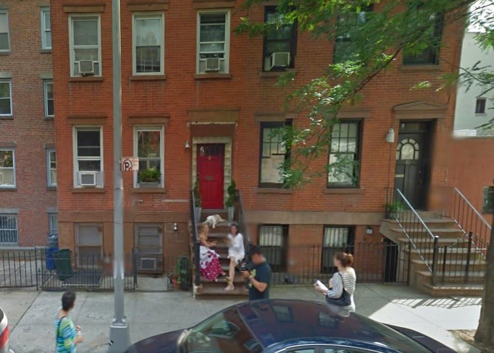 Google Street View Captures Talk Stoop from June 2011