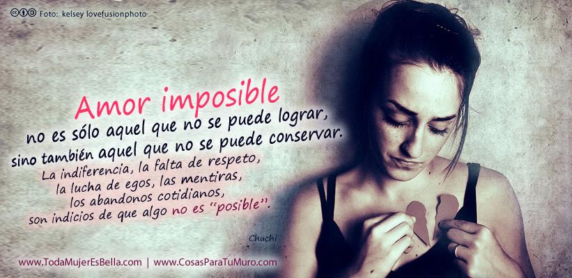 Reflexiones De Un Amor Imposible