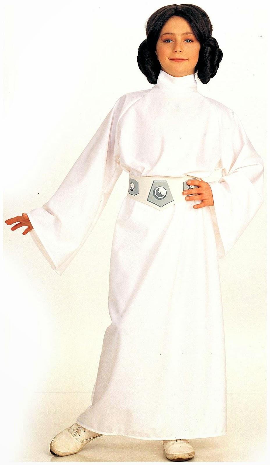 Leia Star Wars Disney Girls Costume Kids Fancy Dress Outfit Jedi Offical License