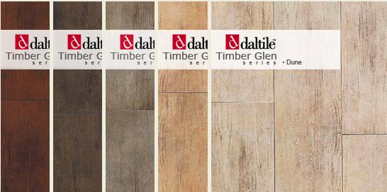 daltile ceramic wood floor - WHITE + GOLD: WOOD TILE?!
