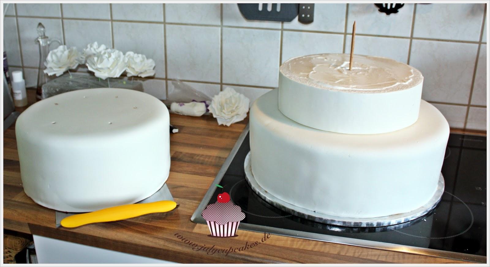 Как сделать второй ярус на торт
