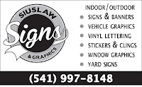 Siuslaw Signs