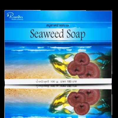 Seaweed Soap Ramita Moringo xà phòng tảo biển, Linh Chi