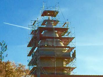 Turmsanierung Kirche Gosen 2015