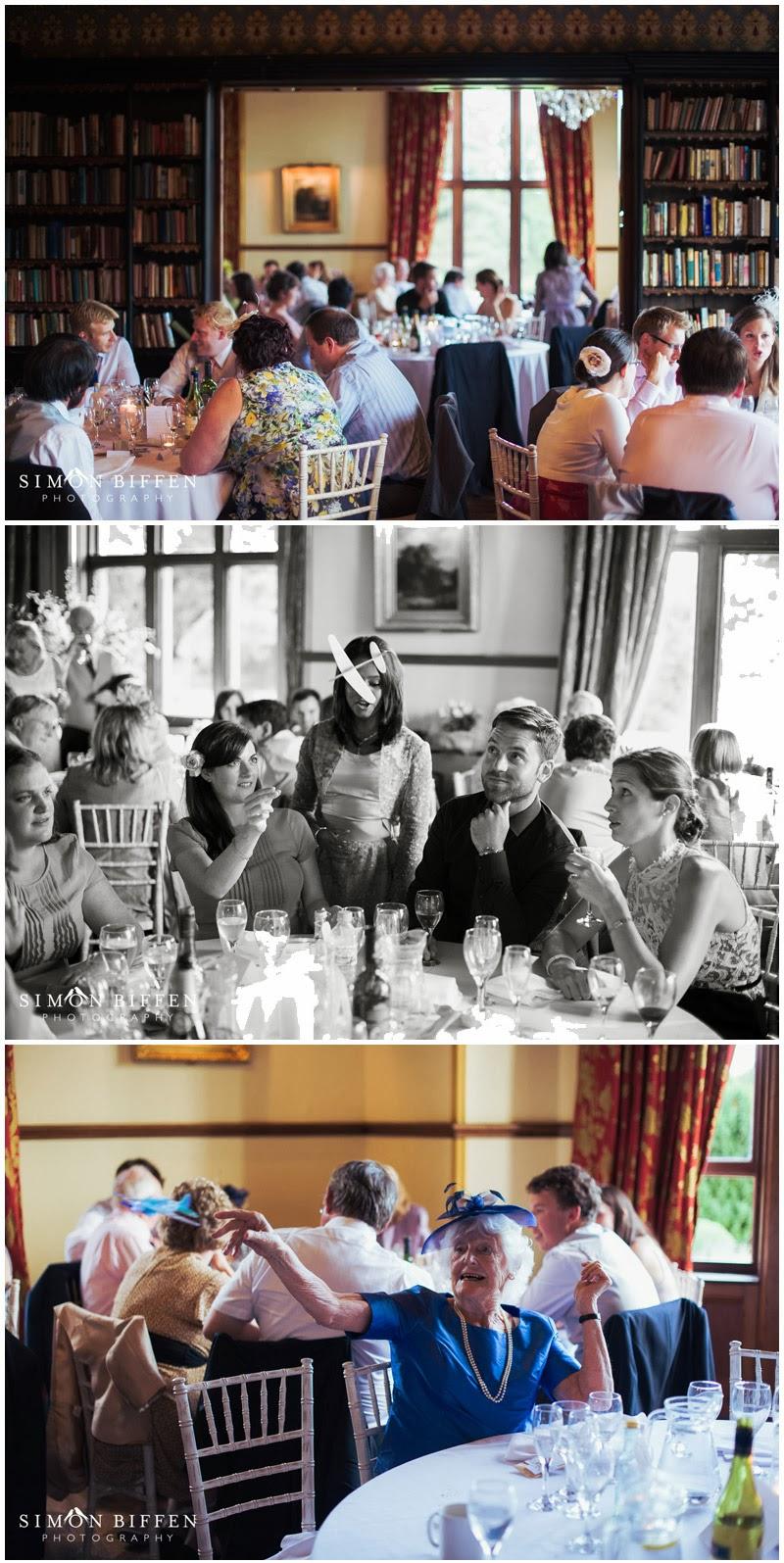 Wedding documentary photography at Huntsham Court