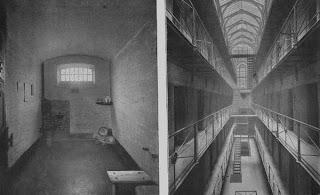 Prisión de Newagate Reino Unido donde se inventó el cepillo comercial moderno.