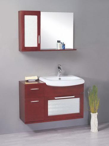 Gabinetes de ba o de madera ba os y muebles for Gabinetes de bano df