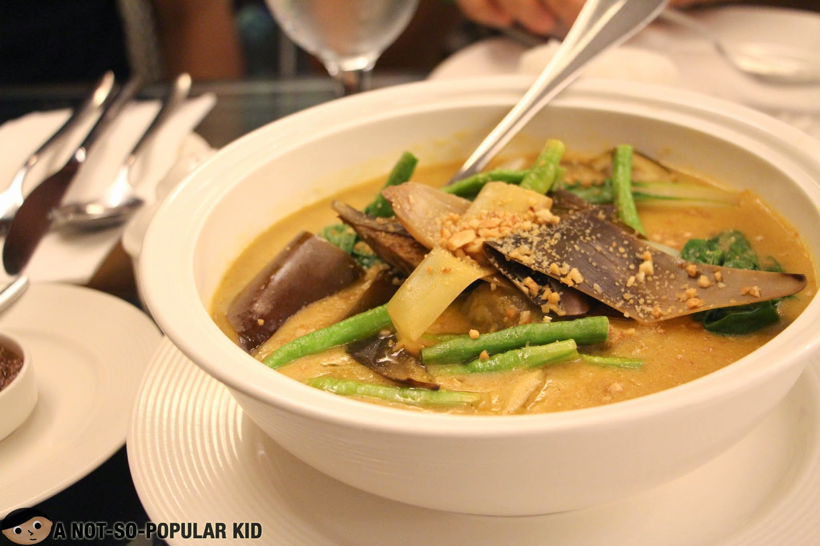 The Kare-Kare of Astoria Plaza Hotel