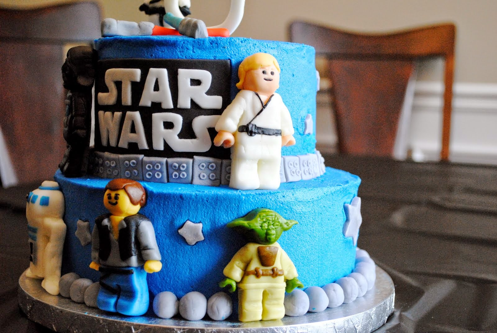 star wars birth day cake