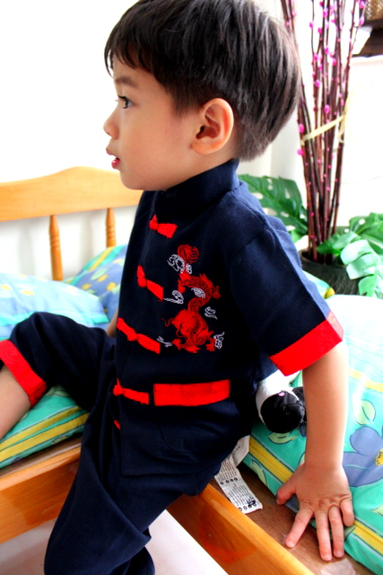 boy chinese outfit