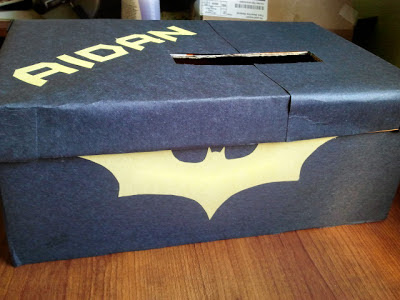 Batman Valentines Day Mail Box