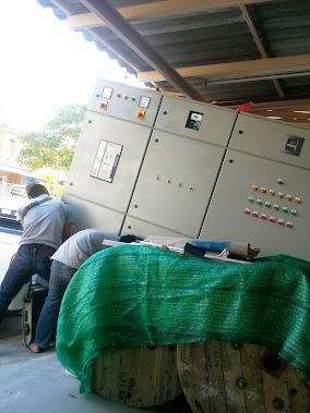 ขนตู้ MDB ไปติดที่โรงงาน Terinex Siam Co.,Ltd.