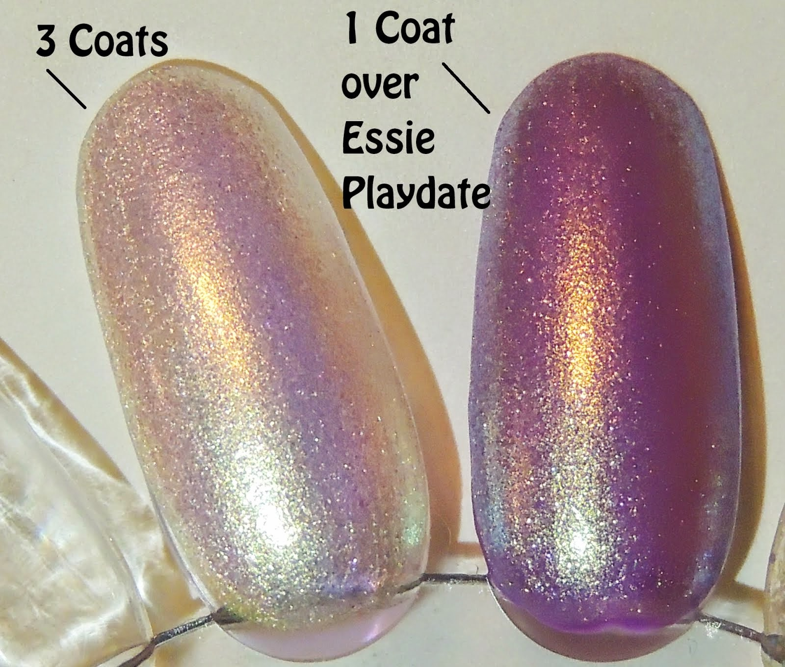 I Found An Oyster Pearl Nail Polish