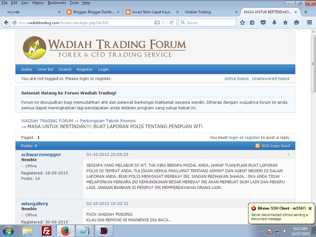 lunaticg: illegal Investment Company under BNM (updated ...