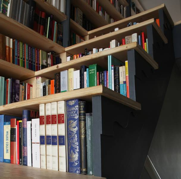 Stair Step Bookcase