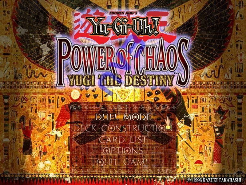 Yugioh Power of Chaos : Yugi The Destiny