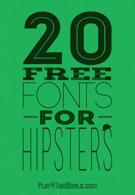 Design Fixation Typeface Tuesday Hipster Fonts