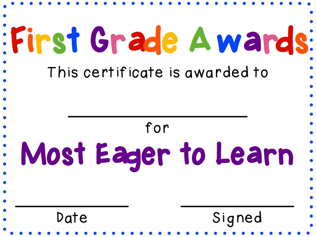 I have the First Grade Awards posted here and my Second Grade Awards posted  here. Both are free for you to have some fun in your classroom and  celebrate a ...