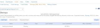 sitemap blog sukses ke bing