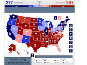 Days Until the Election: 13. Projected Popular Vote Total: Romney +0.2% (up .
