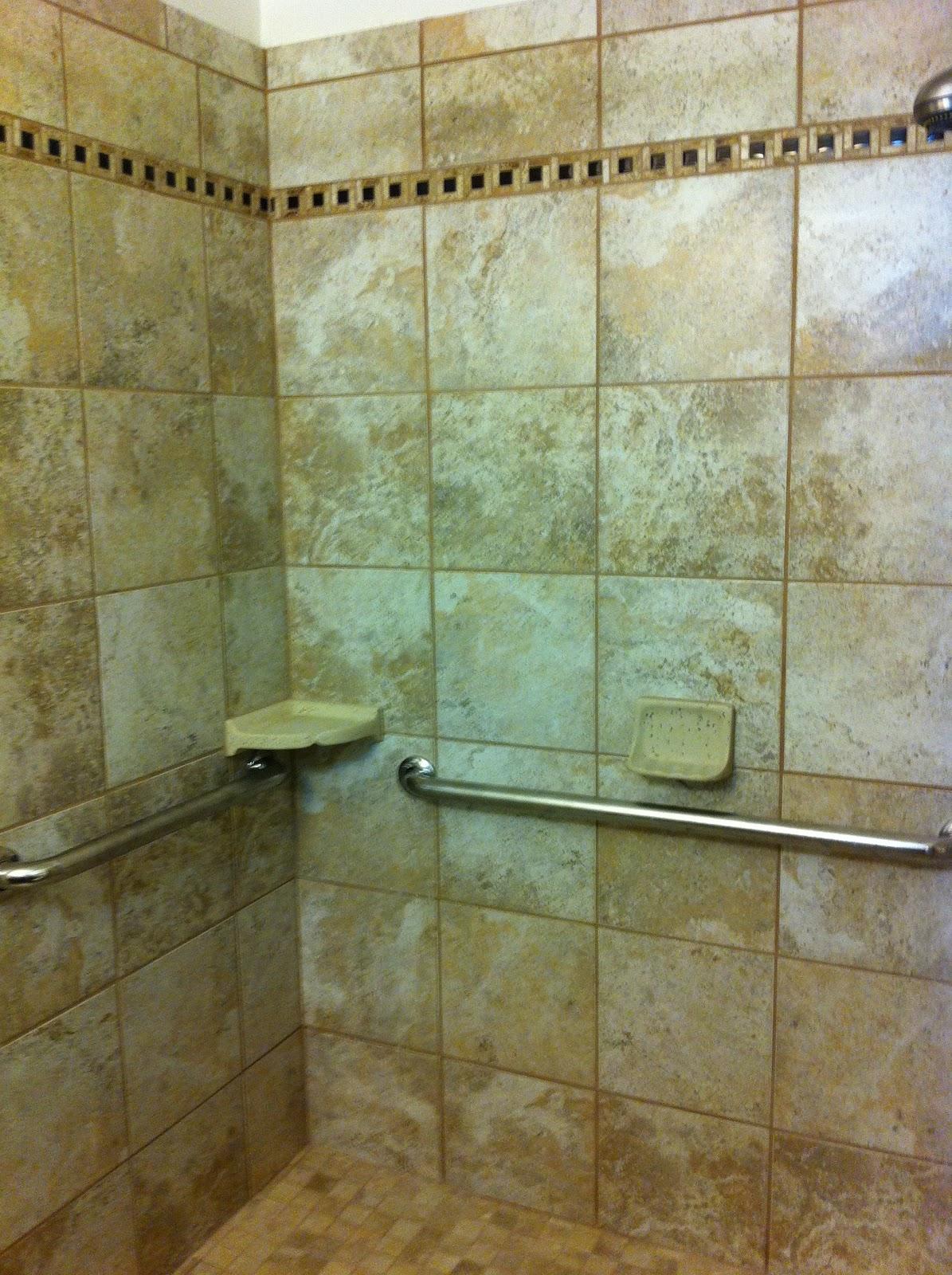 Shower Stall Grab Bars