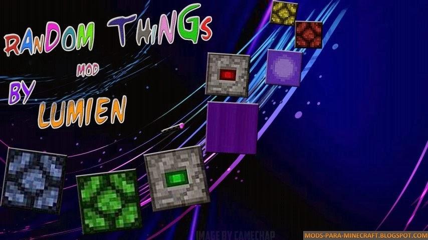 Random Things Mod para Minecraft 1.8
