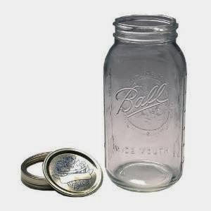 Half Gallon Ball jars are perfect for aquarium crafts and mini terrariums.