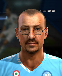 (PES 2013) Rafael Benitez Face HD by Zimon