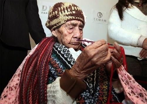 Mulher mais velha do mundo tem 127 anos