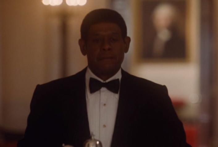 Escena de la película El Mayordomo, protagonizada por Forest Whitaker.