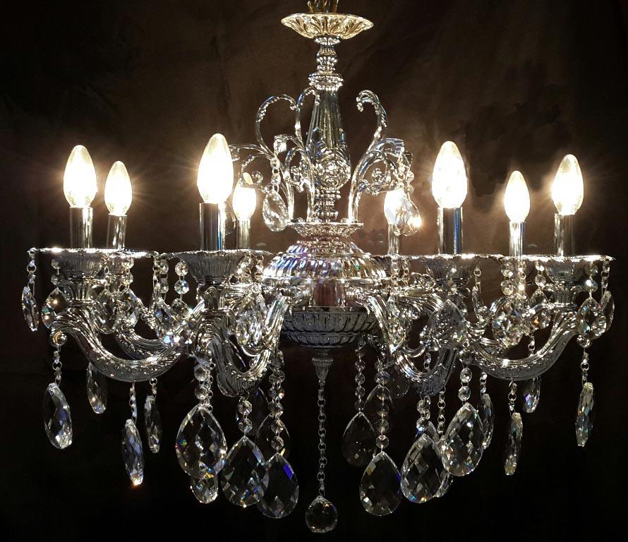 cuci lampu kristal, service lampu kristal dan jual lampu kristal Penyedia