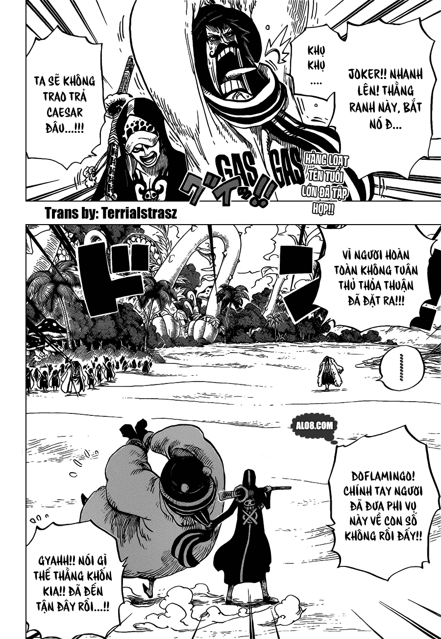 One Piece Chapter 713: Usoland 002
