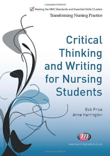 promoting critical thinking and academic writing skills in nurse education Students need to develop and effectively apply critical thinking skills to their academic studies, to the promote critical thinking writing assignments.