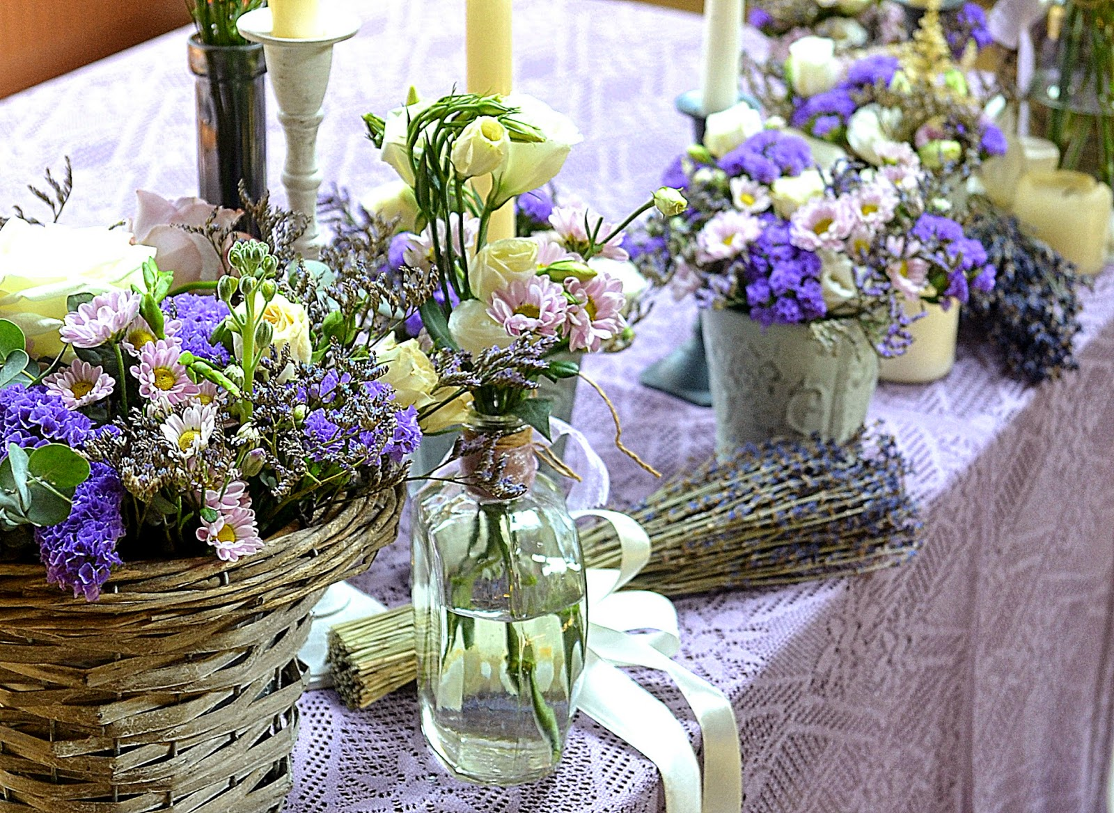 provence wedding decor
