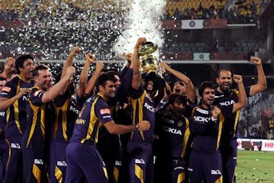 KKR WIN DLF IPL 2012