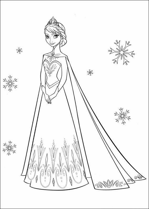 Colouring Pages Of Frozen Disney : Quot desenhos para colorir e imprimir