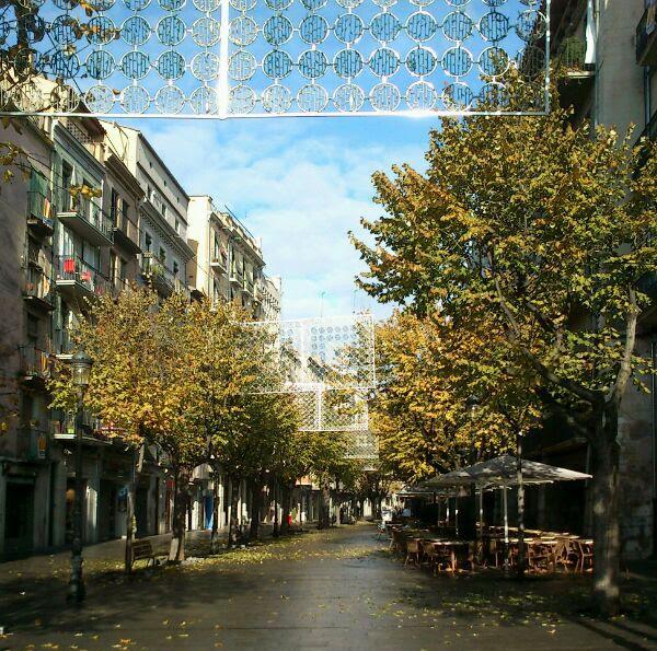 La Rambla de Girona. Encants de Girona.