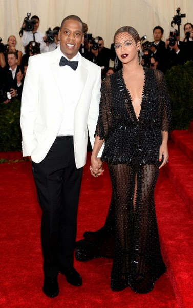 Red Carpet Met Gala 2014 beyonce jay z givenchy