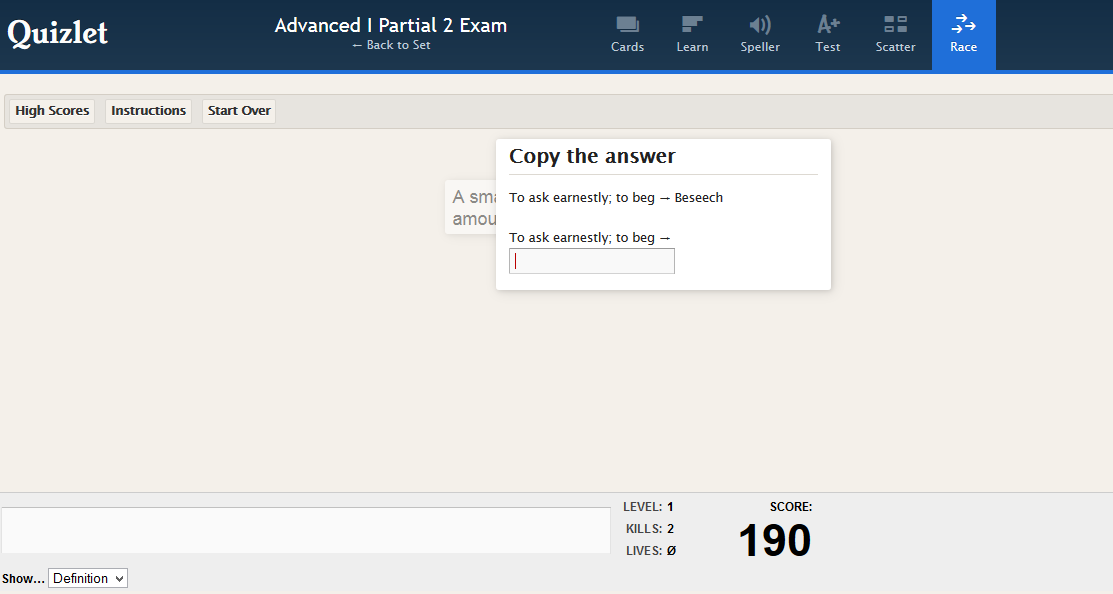 critical thinking is quizlet