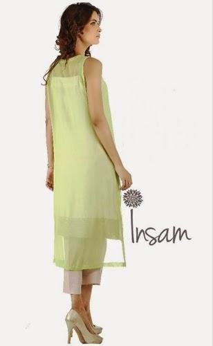 Insam Embroidered Winter Pret 2014-15