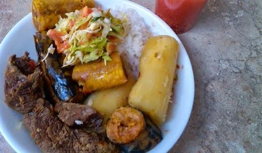 Receta del baho nicaraguense recetas 100 nicarag enses for Hoya para cocinar