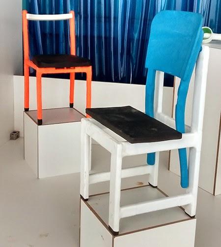cadeira de resina