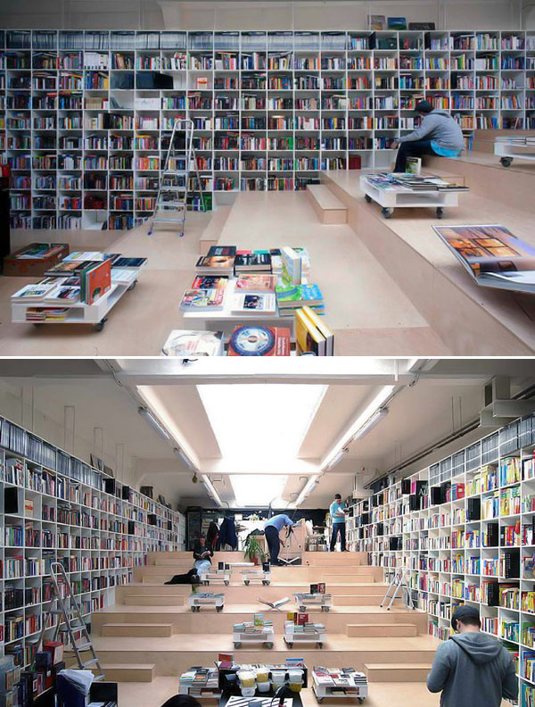 15 librerías más bellas e inusuales del mundo