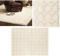 I Spied A Beautiful, Creamy, Geometric Rug At William Sonoma Home The Other  Dayu2026