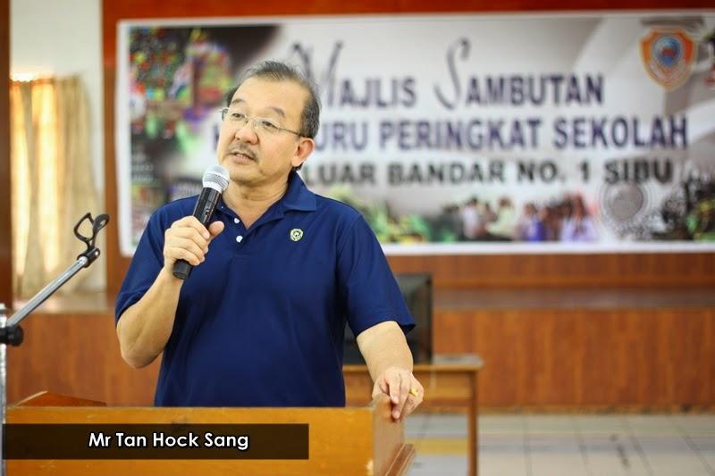 Video perpisahan Pengetua sekolah saya, Mr Tan Hock Sang